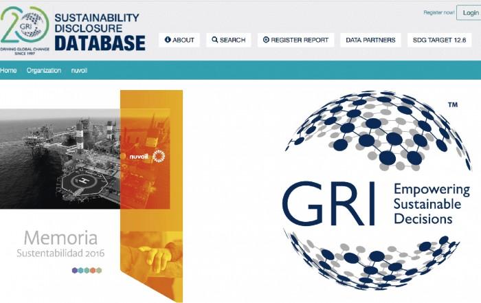 Nuvoil publica Memoria de Sustentabilidad en plataforma del GRI
