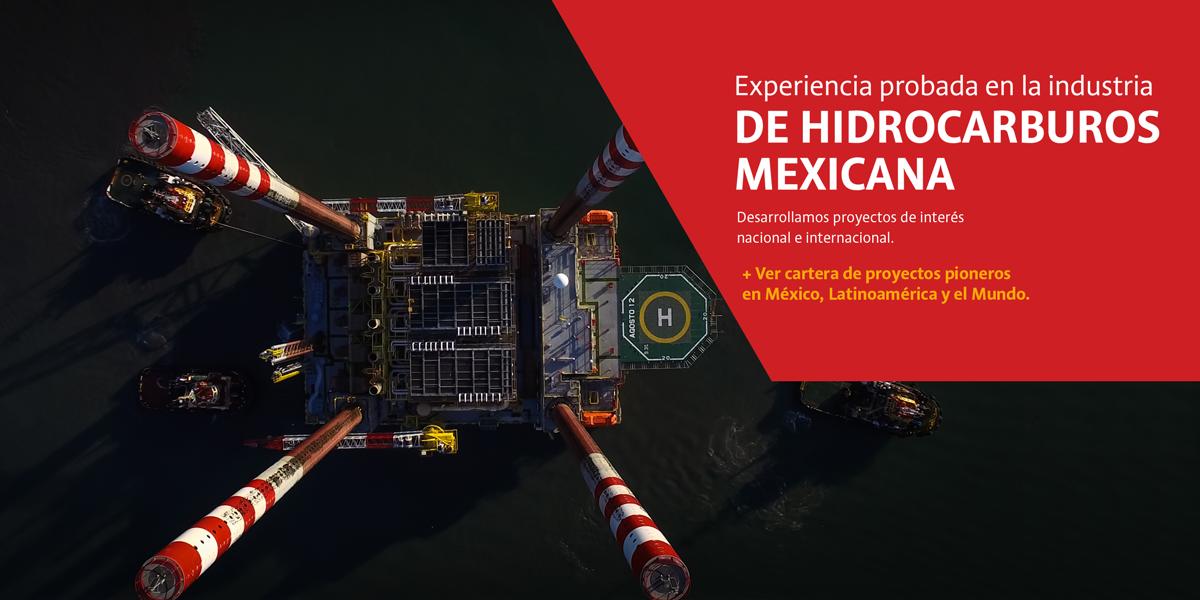 Experiencia probada en la industris de hidrocarburos mexicana