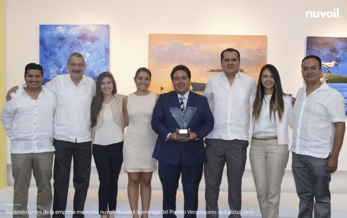 Nuvoil recibe Premio Veracruzano de Calidad 2017