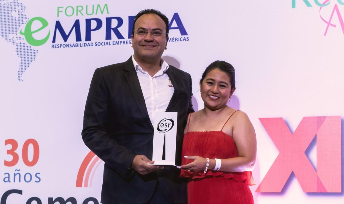 Grupo Nuvoil es galardonado con el Distintivo ESR 2019