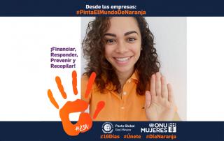 Nuvoil se suma a la campaña #PintaElMundoDeNaranja promovida por la Red en México del Pacto Mundial