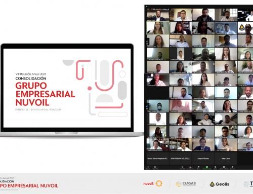 Grupo Empresarial Nuvoil realiza 8va Reunión Anual en formato virtual